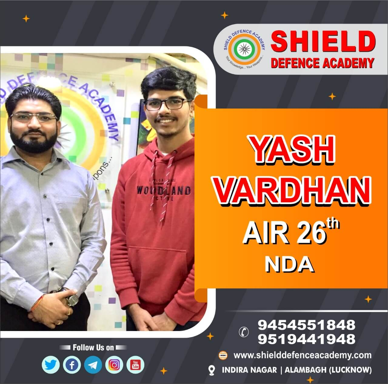Airforce X/Y Coaching in Lucknow